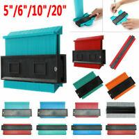 5-20inch Plastic Profile Copy Gauge Contour Gauge Duplicator Wood Marking Tools