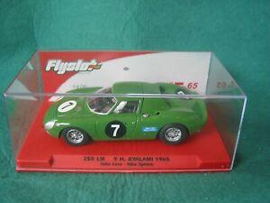 FLYSLOT 053304 FERRARI 250LM KYALAMI 1965 GREEN #7 57/75 BNIB SCALEXTRIC COMPATI