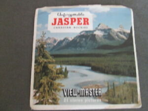 JASPER CANADIAN ROCKIES,  WIEV - MASTER, THREE REELS , SAWYERS