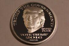 Donald Trump 1 oz .999 Silver Bu Round Vote Trump Usa Bullion Norfed