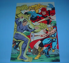 MARVEL HEROES THE AVENGERS POSTER PIN UP GIANT-MAN,THOR,IRON-MAN WASP