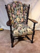 Arm Chair Jacobean Antique see12pix 4 size /details.Local Pickup only. Liquidati