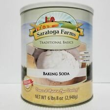 Saratoga Farms Freeze Dried Food Baking Soda #10 Can