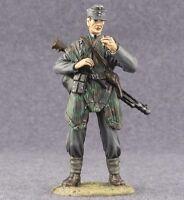 German Machine Gunner Painted 1/32 scale Figures Toy Tin Soldier 54mm WW2