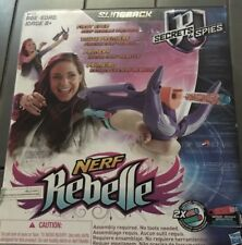 Nerf Rebelle Secrets & Spies Slingback Slingshot