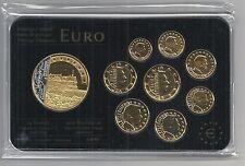 Luxemburgo euro Prestige coinset, Gold & rodio, 24 quilates de oro, nuevo, embalaje original, rara vez