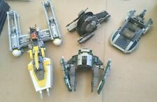 LOT OF LEGO STAR WARS STARFIGHTERS 75168,75172,75015,75022