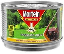 30 MORTEIN Mosquito Repellent Coils With  HANGING METAL BURNER