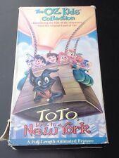 The Oz Kids Collection VHS Toto Lost In New York 1996 Rare - Used Tape