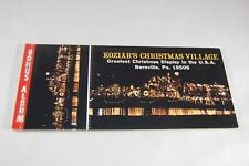 Koziar's Christmas Village postcards and Fold Out Photos booklet