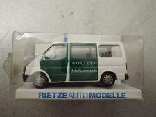 Rietze 50533 Ford Transit Bus Polizei Unfallkommando OVP - Polizei-Sammlung (*4)