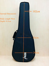 Durable Haze Lightweight Foam Hard Case for Classical Guitar w/Plush Lining