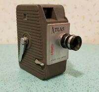 Vintage Atlas Cine Works 8mm Film Camera
