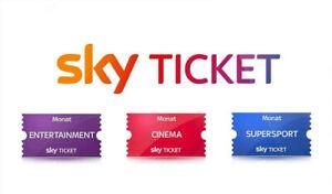 6 Monate Original SKY Ticket Supersport, Entertainment & Cinema - Alles Komplett
