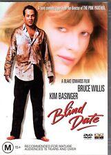 BLIND DATE - DVD R4 (2004) Bruce Willis Kim Basinger VG - FREE POST
