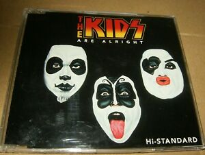 The Kids Are Alright Hi-Standard Single CD Made in Japan,1996,Used.