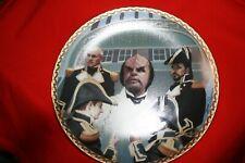 1996 Star Trek Next Generation Wolf's Ceremony Plate