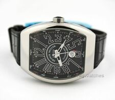 Franck Muller Automatic Vanguard Black V45 SC DT AC NR Mens Wristwatch