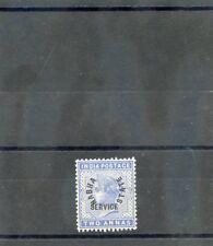 INDIA (NABHA) Sc O3(SG O3)**F-VF NH 1885 2a DULL BLUE, OFFICIAL, $500