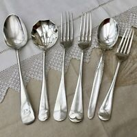 ANTIQUE FORKS SPOONS x6 SILVER PLATE CUTLERY BUNDLE HUTTON PRINGLE KRUPP STCLAIR