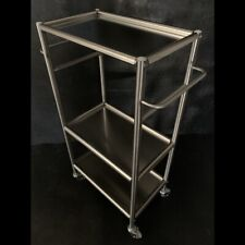 New listing Ikea Grundtal Cart Stainless Steel Stand Wheels Trolly Tattooing Tattoo Piercing