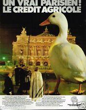 Publicité advertising 1981 Credit agricole Mutuel Ile de France Paris