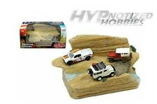 AMERICAN DIORAMA 1:64 MIJO EXCLUSIVES TRAIL CHALLENGE DIORAMA DIE-CAST AD-38431