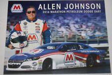 1999 Allen Johnson Amoco Dodge Avenger Pro Stock NHRA postcard