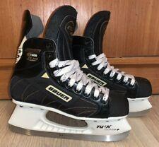 vintage Bauer Supreme 1000 Plus hockey skates Leather - 6.5 Ee wide Tuuk Custom