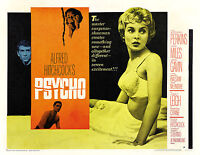 Home Wall Art Print - Vintage Movie Film Poster - PSYCHO - A4,A3,A2,A1