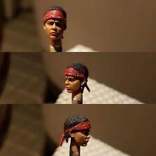"""Hiya Aliens Colonial Marines 1:18 3.75"""" Figure Vasquez custom painted head only"""