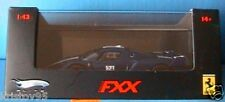 FERRARI FXX TOUR DE FRANCE #24 DARK BLUE METAL MATTEL HOTWHEELS ELITE BLEU BLAU