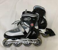 Schwinn Quality Adjustable Roller Blades In Line Skates Size 6 To 7.5