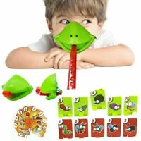 Tic Tac Tongue Chameleon Mask Bug Catch Quickdraw Game Kids Familynew Gifts NEW