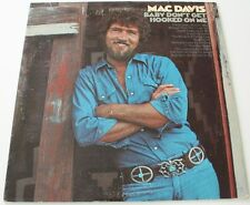 MAC DAVIS - Baby Don't Get Hooked On Me [Vinyl LP, 1972] USA Import KC31770 *EXC