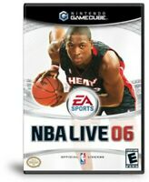 NBA Live 2006 Nintendo Gamecube Game Complete
