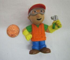 "2007 HANDY MANNY 2.5"" Mattel PVC Action Figure Disney Jr. CAKE TOPPER Plastic"