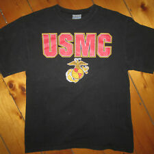 vintage mens M/L 1980-90s USMC United States Marine Corps. T-SHIRT USA Made used