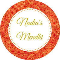 PERSONALISED GLOSS QUALITY MEHNDI, MENDHI FAVOUR THANK YOU STICKERS ORANGE