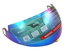 TMS 155 Modular Flip Up Full Face Helmet Color Tinted Visor Eye Shield