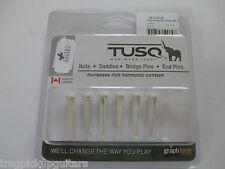 Graph Tech Tusq Bridge pin pins Stöcker weiß