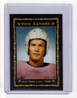 Tom Landry, '49 New York Yankees AAFC rookie year, Monarch Corona Epic series