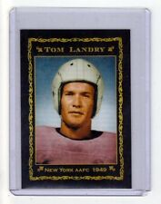 Tom Landry, '49 New York Yankees AAFC rookie year, Monarch Corona Epic series