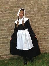 NEW Handmade Historical Play Pilgrim Adult 4pc Costume Dress Set Sz 6/8/10/12/14