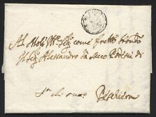 Lettera da Verona 29 Ott 1727 a Peschiera