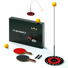 Fixed Table Tennis Trainer Ping Pong Ball Training Equipment Rebound Set Indoor