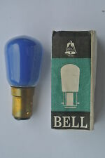 Pack of 6 Genuine Bell SBC B15 Pygmy 28mm Sign Lamps Bulbs BLUE 15w 240v Mains