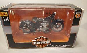 Maisto 1:18 Scale Harley Davidson 1948 FL Panhead Series 8 DieCast ~ lot x1024