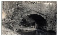 1915 RPPC Stone Bridge in Titusville, PA Real Photo Postcard