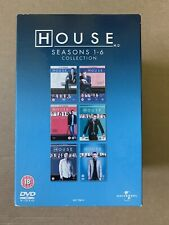 House - Series 1-6 - Complete (DVD, 2010, 34-Disc Set, Box Set) *NEARLY NEW*